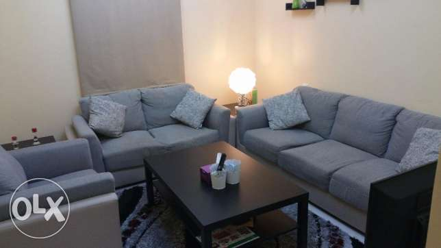 كنب لستة اشخاص Sofa set (Great offer!!) السيب -  1