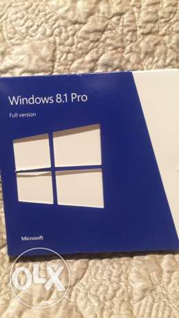 New never used Windows 8.1 PRO