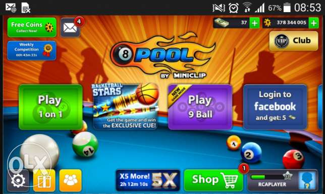 Ball pool account for sale