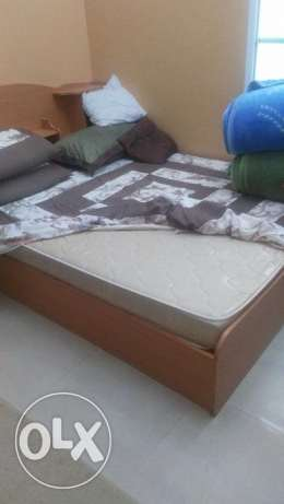 Bed in very good condition for sale مسقط -  1
