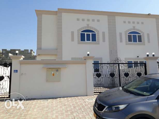 Specious Brand New two story, 5BR + Maid room villa for rent AL Amrat