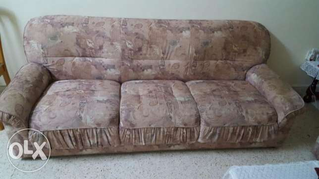 5 seater sofa set مطرح -  2