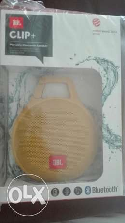 JBL CLIP+ bluetooth speaker orignal price at 23 OMR (unwanted gift)