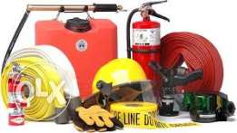 Deals with all sort of fire fighting equipment ,CCTV,gas pipelines