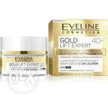 GOLD LIFT Expert 40+ Face Cream Serum 24k Gold