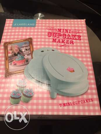 Mini Cupcake Maker - used once only