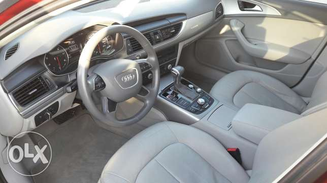 2012 audi a6 . Km 50000 . Available instalment monthly 160 مسقط -  3