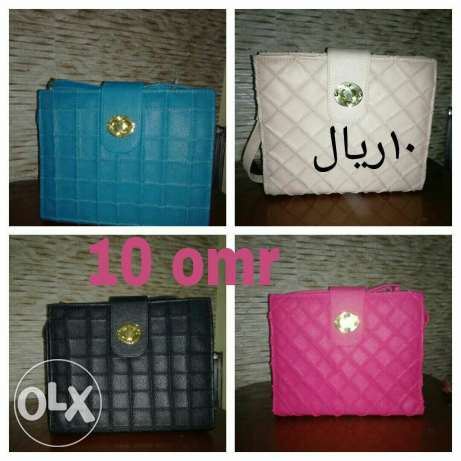 Ladies fashionable bags for a cheapest prices are now on hands .start مسقط -  7