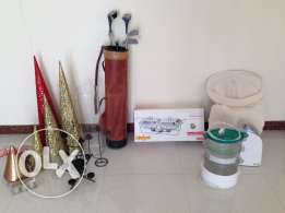 Variety of household goods Cheap price to sell as one lot