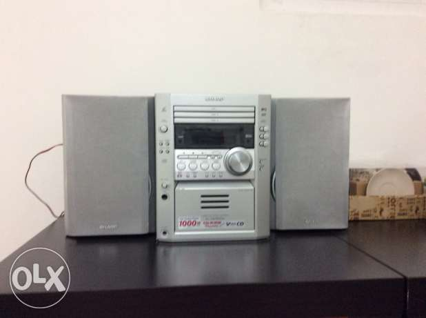 stereo Sharp Video CD,3 DISC,MP3,Video CD Micro System مسقط -  2