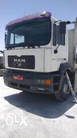 MAN TRUCK WITH CRANE in good condition.Price negotiable