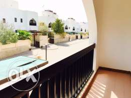 wonderful 3bedroom modern villa at quram with maid room only on 1000