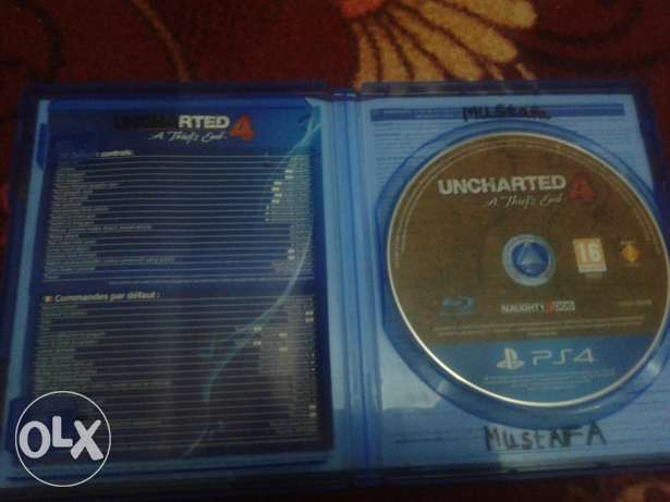 Uncharted4 ps4 CD
