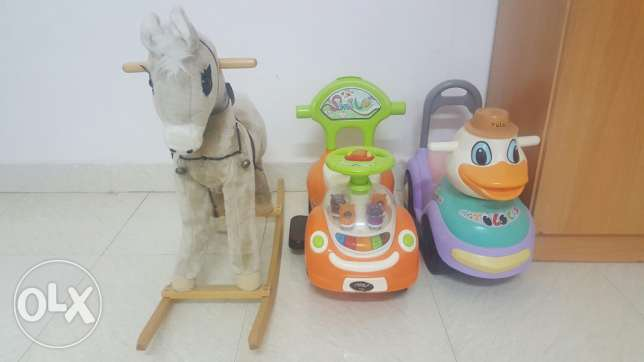 Swing, Horse and cars صلالة -  2