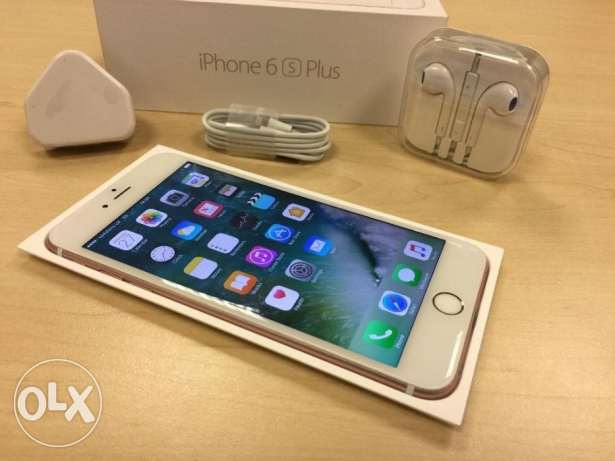Boxed Rose Gold Apple iPhone 6s Plus 16GB Factory Unlocked Mobile Phon