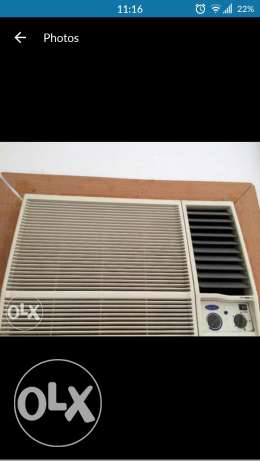 New packed 1.5 Ton Carrier Air conditioners. 110 Rial Omani each