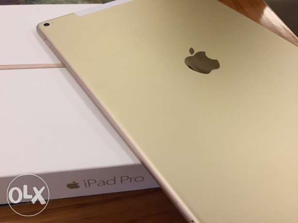 ipad PRO 12.9 inch 128 gb wifi with cellular gold
