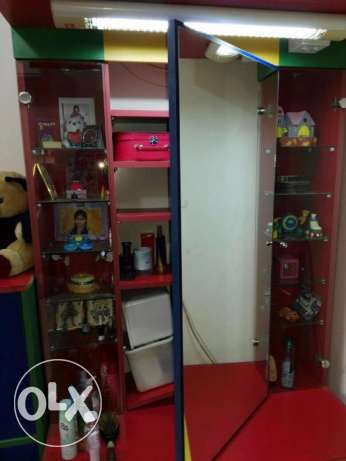 Custom made Children Bedroom, Wardrobe, Dressing table with storage مطرح -  5