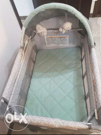 Graco bed , travel lite crib with stages السيب -  3