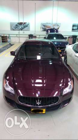 Maserati quattroporte 3 years warranty and service free oman car .