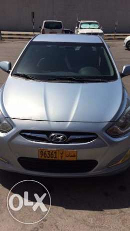 Salon Hyundai Accent 1.6 Model 2013 mileage 94000 Wanted 2850 To comm مسقط -  1