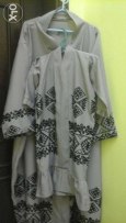 For sale fair mother and daughter abaya dress brown light color