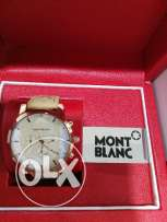 The luxury watch from Mont Blanc