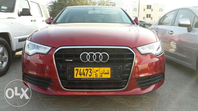 2012 audi a6 . Km 50000 . Available instalment monthly 160 مسقط -  1