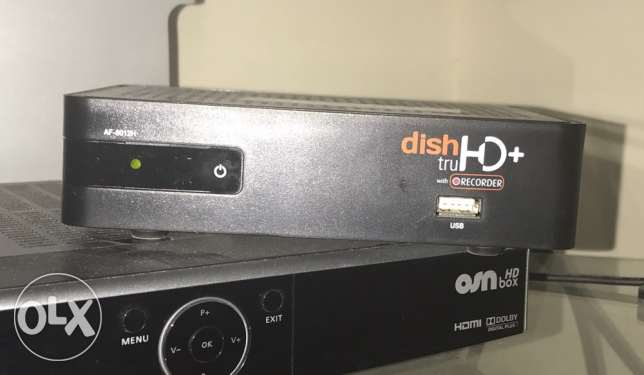 HD dish tv with set in running condition