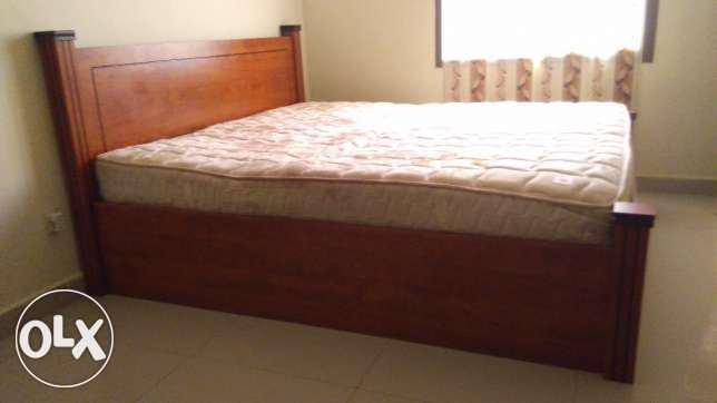 Urgent sale- bed, sofa set centre table, washing machine, iron and gas