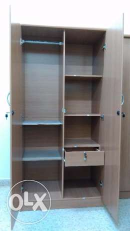 Wardrobe 2 Door for sale, Unused, Brand New مسقط -  1