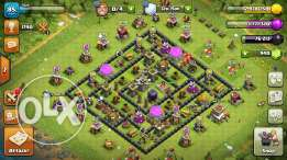 Clash of clan town hall 8 fully max