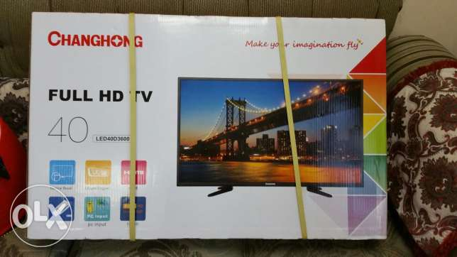 New TV full HD