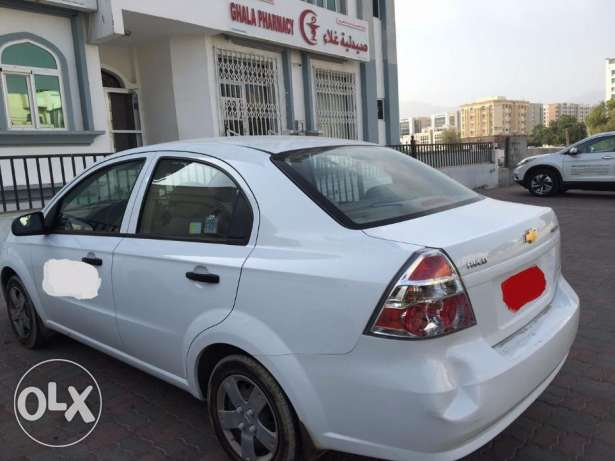 Aveo White Colour excellent condition مسقط -  3