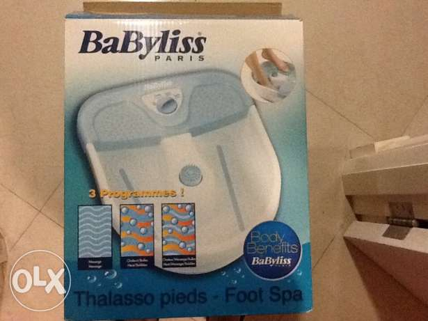 Babyliss foot spa in perfect condition for immediate sale