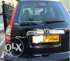 Honda CR-V, Year 2011, Top End, Black Color
