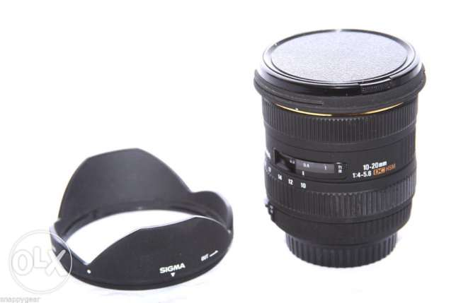 SIGMA Ultra Wide Angle Lens 10-20mm F/4.0-5.6 HSM DC DSLR For Canon