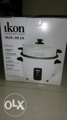 Ikon electrical rice cooker imported from usa السيب -  1