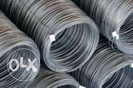 Wire rod available grade AISI 1006, 1008 & 1018 size 5.5mm and GI Wire