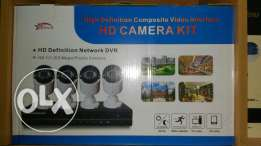 4 camera with DVR 2years warranty
