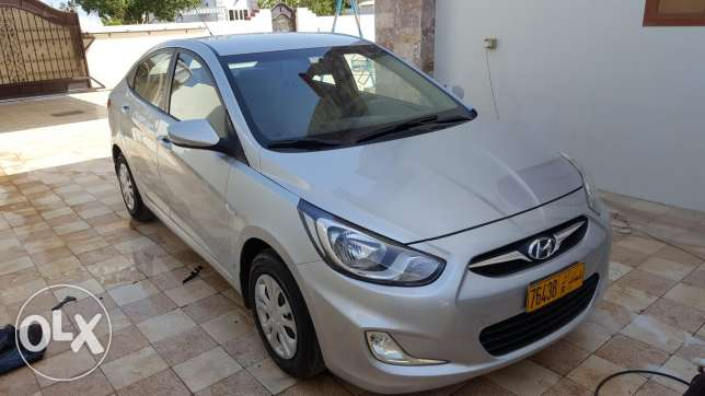 Hyundai accent 2015 Oman car