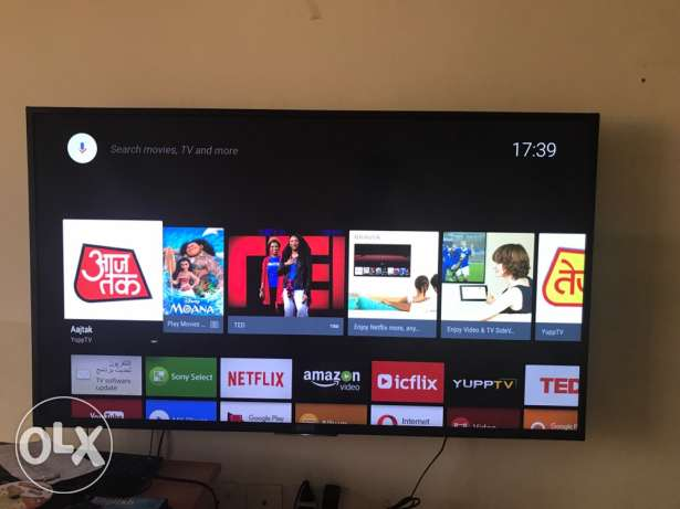"55"" Sony 4K Smart Android Tv"