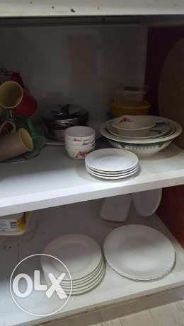 Crockery and Other Kitchen Items