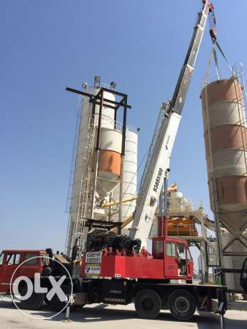 50 ton / 25 ton crane for rent  Rent. السيب -  2
