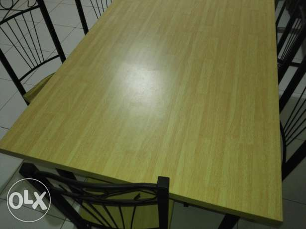 Dining table with six chairs مسقط -  4