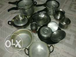 Cooking vessel's and cooker etc for sale