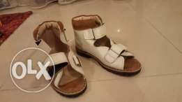 Leather shoes for kids, size 32