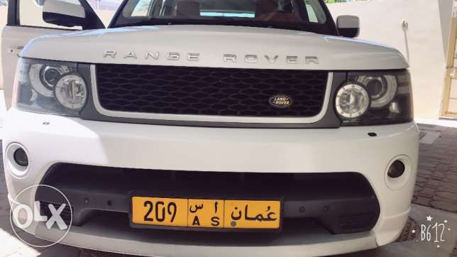 Selling Range Rover