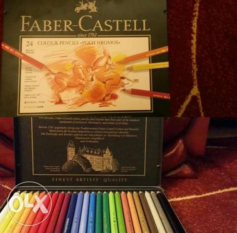 faber castell colour pencils polychromos