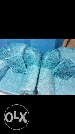 3 seater sofa one and single seater sofa 2. For urgent sale
